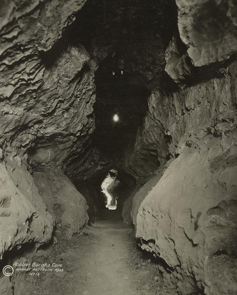 Robber Baron Cave History - TCMA